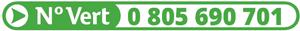 Numéro vert : 0 805 690 701